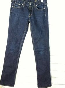 J. Crew matchstick indigo jeans 27